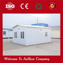 Portable beautiful cheap mobile sentry box steel frame prefab houses