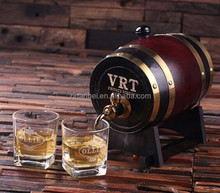 Custom made logo and color wooden whiskey barrel,wine barrel