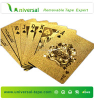 New Luxury 24K Golden Playing Cards Gold Foil Poker With Luxury Wooden Box Good Gift Idea