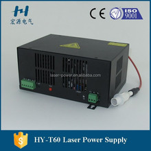 60W CO2 laser power supply for laser tube made in China