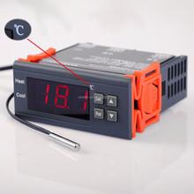 DC 24V 10A Digital Temperature Controller Aquarium Sensor Thermostat