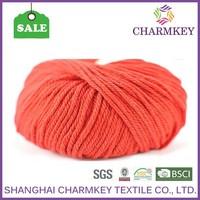 popular in American market wool yarn for felting for sweater,bright orange