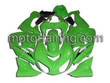 Racing Fairings For Kawasaki ZX10R 2006 Body Fairing ZX-10R Ninja 06-07 All Green