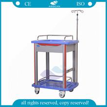 AG-LPT006B ABS material hospital crash cart medical trolley