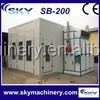 alibaba china CE proved spray paint booth china/cheap car paint booth/used spray booth for sale