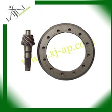 Forging crown wheel and pinion gear bevel gear for Mazda