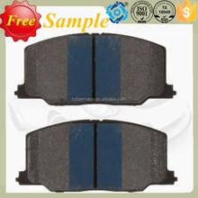 NO Noise Brake Pad D356-7247 (WVA21372/23039) for TOYOTA/LEXUS