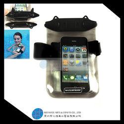 waterproof bag for pad cellphone waterproof bag under water phone bag