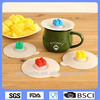 Coffee cup lid,silicone coffee cup lid,smart Blocks shaped cup lid