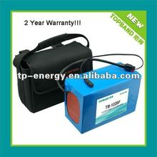 2012 NEW!!! rechargeable lithium battery 12V 20Ah for remote golf trolley