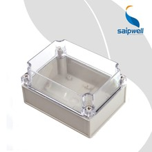 DS-AT-1217-1 Saip/Saipwell IP65 Clear Waterproof Plastic Box CE Plastic Junction Box High Quality Electronic ABS Enclosure