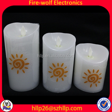 Club Candle Manufacturer Christmas Apples With Candle