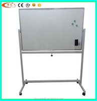 Mobile magnetic whiteboard with stand for kids