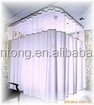 Hospital medical fire retardant, flame retardant partition curtain