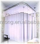 Medical/Hospital fire retardant, flame retardant partition curtain