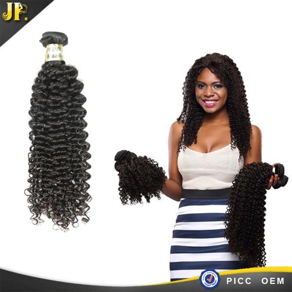 JP cheveux top vente 100% brésiliens bouclés vague en gros cheveux humains