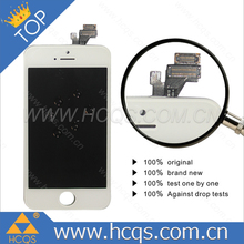 China manufacture lcd for iphone 5 display screen replacemennt,full original for iphone screen 5,for iphone 5 tempered glass