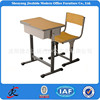 China good quality cheap study student modern metal wooden adjustable school desk and chair