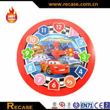 cartoon pulling toy for kids wooden cartoon toy
