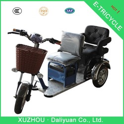 500W three-wheeler electric tricycle for adults passengers