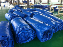 PVC coated tarpaulin for covers