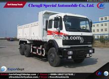 norte benz 20 6x4 toneladas camión de volteo