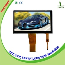 7 inch capacitive touch lcd glass with i2c touch screen controller
