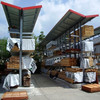 Jracking Heavy duty timber board rack cantilever suitable for outdoor warehouse