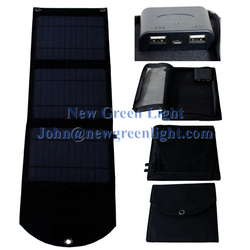 NGL 10W Internal Rechargeable Battery 4000mAh Water-resistant Portable Solar Mobile Phone Charger