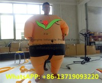 2015 New inflatable sports games/ sumo wrestling suits for hot selling