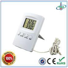 Indoor outdoor fridge thermometer, refrigerator thermometer, fridge freezer thermometer for room and house
