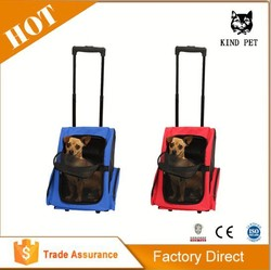 Roll Along dog Carrier & Backpack Luggage ON WHEELS