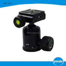 Hot Shoe Adaptor with mini ball head and tripod Camera Mount connect to Camera
