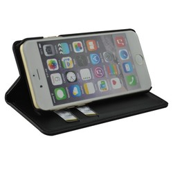 For iphone 5 6 leather flip cover