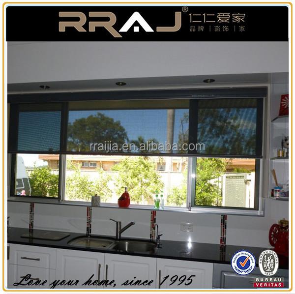 Rraj Cheap Discount Motorized Roller Blind Screen Window Shade Buy Screen Window Shade Roller
