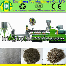 new fasion PP woven bags pelletizer system| PE PP film granulating recycling machine plant| plastic recycling machine