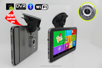 Android tablet av-in gps 7-inch HD 800X480 video recorder touch screen car gps dvr