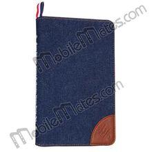 Kajsa Jeans Pattern Leather case for iPad Mini 2 Retina iPad Mini With Card With Card Holder