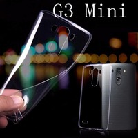 For G3 mini Transparent Case Simple Cute PC Crystal Clear Case For LG G3 Mini G3S G3 S D722 D725 D728 D724 case
