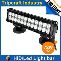 High Quality! 2PCS/LOT! 12inch 72W LED TRUCK LIGHT Offroad Driving Lamp SUV Car Boat