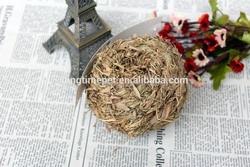 High quality hand-made grass ball with a bell/pet straw-made toys for small pets