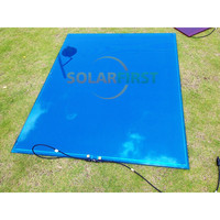 72 watt marine use A-si thin film flexible solar panel
