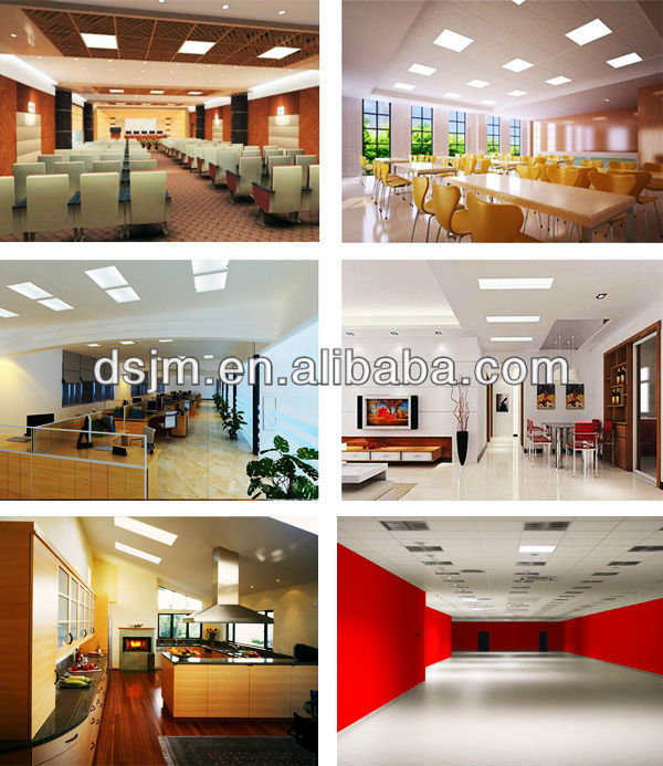 45w led drop ceiling light panels factory price