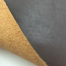 1.8mm synthetic pvc leather for shoes with flocked backing