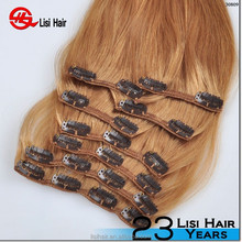 2015 new products alibaba express china direct factory high quality clip in unique hair extensions