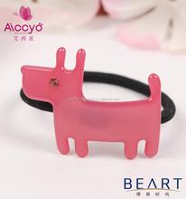 Wholesale animal style elastic hair band rhinestone baby hair ornament hair rubber bands