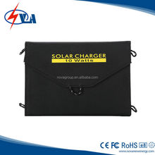10W Solar Panel Charger for Cell Phone, iphone, ipad, Samsung and Other Smartphones and Tablets