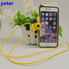 2015 new design mobile phone bumper case for iphone 6g and 6g plus with Hang a rope
