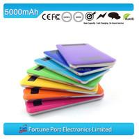 Ultrathin Power Bank 5000mah Emergency Battery Pack For Mobile Phone