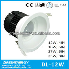 SAA TUV CE GS led downlight new good value SMD5630 12w 18w 2w 35w 4in-8inch